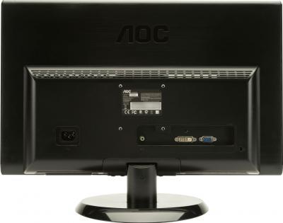 Монитор AOC E2250SWDAK - вид сзади
