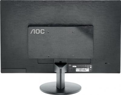 Монитор AOC E2370SH - вид сзади