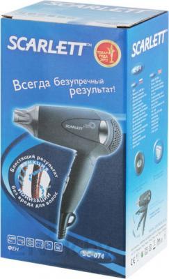 Компактный фен Scarlett SC-074 (Gray) - упаковка