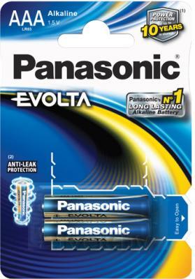Батарейки ААА Panasonic LR03EGE/2BP - общий вид