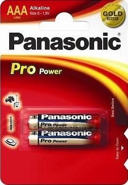 Батарейки ААА Panasonic LR03XEG/2BP - общий вид