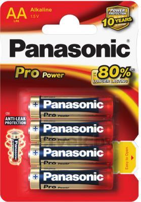 Батарейки АА Panasonic LR6XEG/4BPR - общий вид
