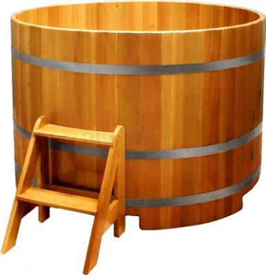 Купель склеенная Мануфактура Шингарёв и Ко d1.2 (Лиственница) - реальный цвет модели может отличаться от цвета, представленного на фото