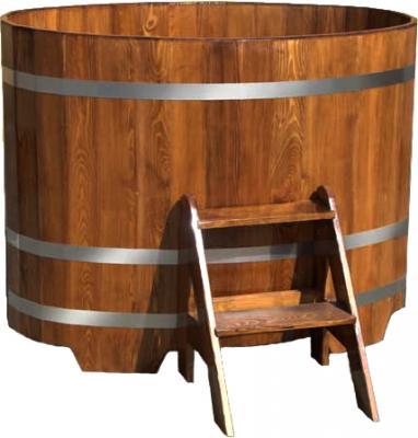 Купель склеенная Мануфактура Шингарёв и Ко 88x150 (Лиственница) - реальный цвет модели может отличаться от цвета, представленного на фото