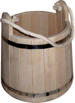 Ведро деревянное Мануфактура Шингарёв и Ко ВД-9-О-Н (Ольха) - реальный цвет модели может отличаться от цвета, представленного на фото