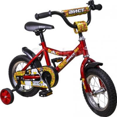 Детский велосипед Aist KB12-121 (красный) - общий вид