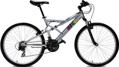 Велосипед Aist 26-670 Serious (S, серый) - общий вид