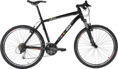 Велосипед Aist 26-640 8 Bit (M, черный) - общий вид