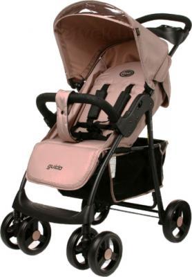 Детская прогулочная коляска 4Baby Guido (бежевый) - общий вид