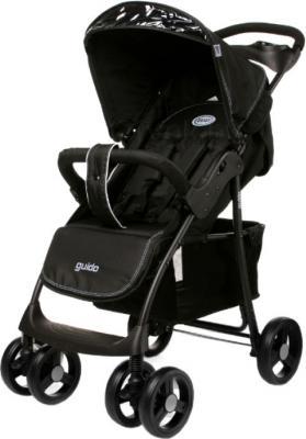 Детская прогулочная коляска 4Baby Guido (черный) - общий вид