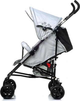 Детская прогулочная коляска 4Baby Rio (синий/черный) - вид сбоку (цвет Grey)