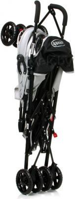 Детская прогулочная коляска 4Baby Rio (синий/черный) - в сложенном виде (цвет Grey)