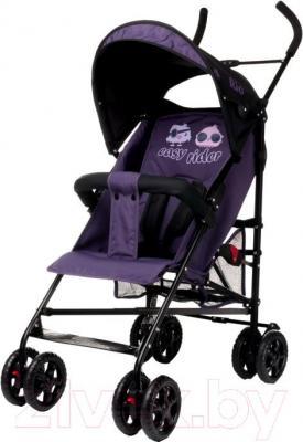 Детская прогулочная коляска 4Baby Rio (фиолетовый) - общий вид