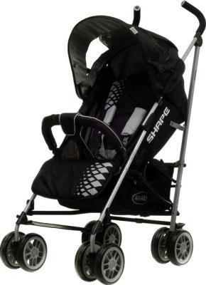 Детская прогулочная коляска 4Baby Shape (черный) - общий вид