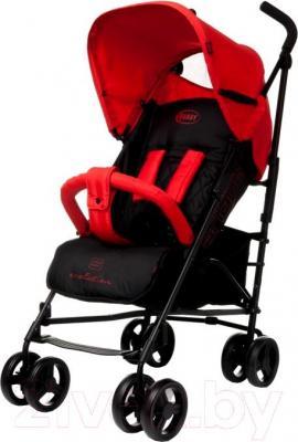Детская прогулочная коляска 4Baby Shape (красный) - общий вид