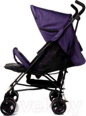 Детская прогулочная коляска 4Baby Shape (красный) - вид сбоку