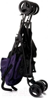 Детская прогулочная коляска 4Baby Shape (фиолетовый) - в сложенном виде