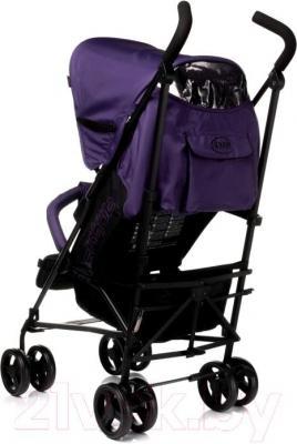 Детская прогулочная коляска 4Baby Shape (фиолетовый) - вид сзади