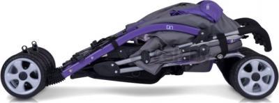 Детская прогулочная коляска EasyGo Duo Comfort (Chocolate) - в сложенном виде (цвет ultra violet)