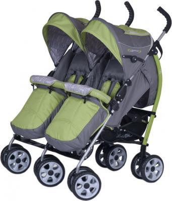 Детская прогулочная коляска EasyGo Duo Comfort (Pistachio) - общий вид