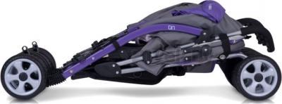 Детская прогулочная коляска EasyGo Duo Comfort (Ultra Violet) - в сложенном виде