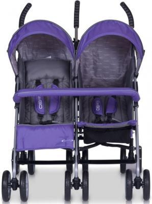 Детская прогулочная коляска EasyGo Duo Comfort (Ultra Violet) - вид спереди