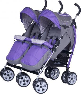 Детская прогулочная коляска EasyGo Duo Comfort (Ultra Violet) - чехол для ног