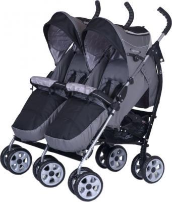 Детская прогулочная коляска EasyGo Duo Comfort (Carbon) - общий вид