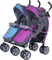 Детская прогулочная коляска EasyGo Duo Comfort (Mix) -
