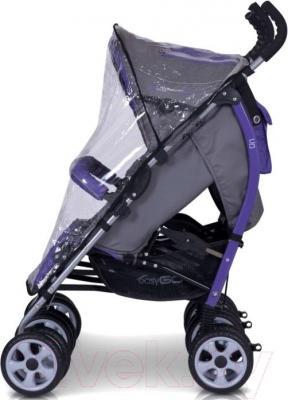 Детская прогулочная коляска EasyGo Duo Comfort (Mix) - дождевик
