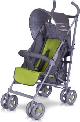 Детская прогулочная коляска EasyGo Milo (Sport Red) - без чехла (цвет pistachio)