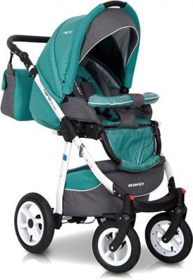 Детская универсальная коляска Riko Nano 2 в 1 (02) - прогулочная (цвет 03)