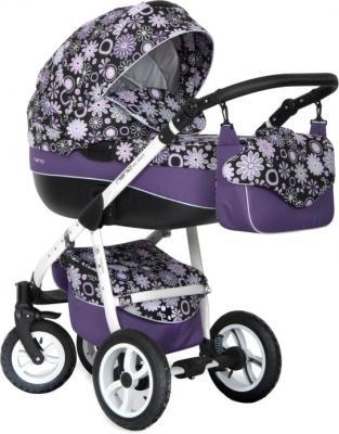 Детская универсальная коляска Riko Nano Flowers 2 в 1 (06) - общий вид