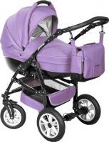 Детская универсальная коляска Riko Primo 2 в 1 (Lila) -