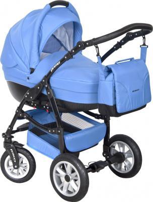 Детская универсальная коляска Riko Primo 2 в 1 (Ocean Blue) - общий вид