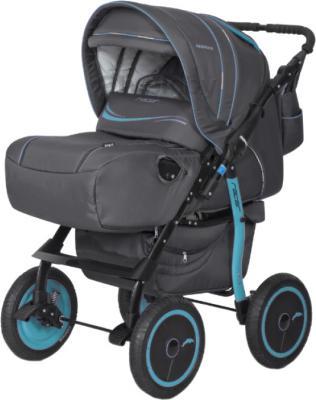 Детская универсальная коляска Riko Racer (Light Blue) - общий вид