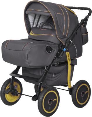 Детская универсальная коляска Riko Racer (Yellow) - общий вид