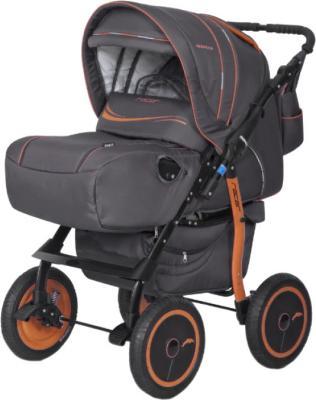 Детская универсальная коляска Riko Racer (Orange) - общий вид