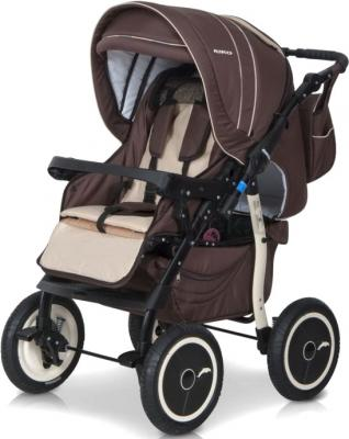 Детская универсальная коляска Riko Racer (Beige) - прогулочная (цвет 09 chocolate)