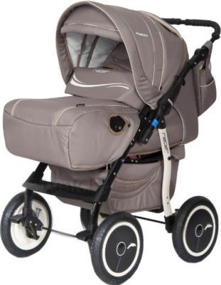 Детская универсальная коляска Riko Racer (Beige) - общий вид