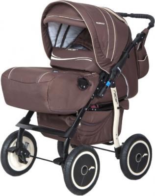 Детская универсальная коляска Riko Racer (Chocolate) - общий вид