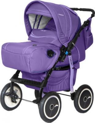 Детская универсальная коляска Riko Racer (Purple) - общий вид