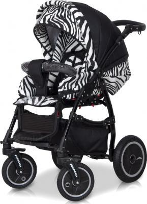 Детская универсальная коляска Riko Stella 2 в 1 (04) - прогулочная (цвет 06)