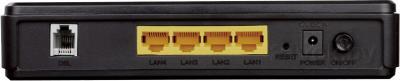 DSL-маршрутизатор D-Link DSL-2540U/BA/T1D - вид сзади