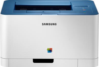 Принтер Samsung CLP-360 - вид спереди
