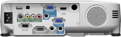 Проектор Epson EB-965 - вид сзади