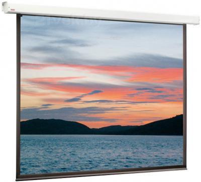 Проекционный экран Classic Solution Lyra 305x305 (E 297x221/3 MW-D8/W) - общий вид