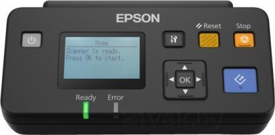 Протяжный сканер Epson WorkForce DS-510N - панель сетевого интерфейса
