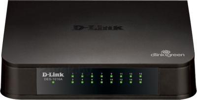 Коммутатор D-Link DES-1016A/C1A - общий вид
