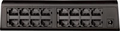 Коммутатор D-Link DES-1016A/C1A - вид сзади